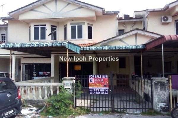 For Sale Terrace at Taman Seri Rapat, Ipoh Leasehold Unfurnished 3R/3B 180k