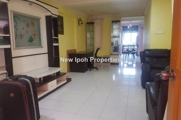 For Sale Apartment at City View Apartment, Ipoh Leasehold Unfurnished 3R/2B 235k