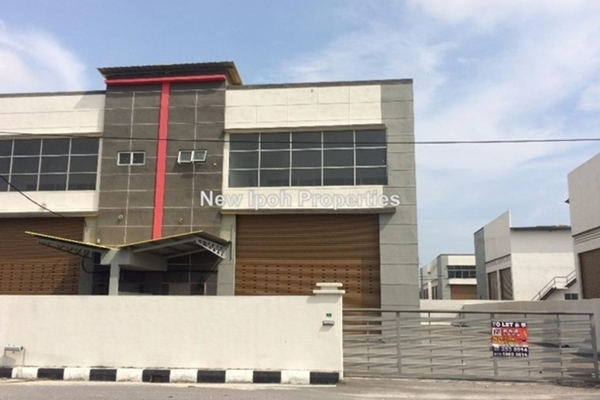 For Rent Factory at Taman Putra Indah, Ipoh Leasehold Unfurnished 0R/2B 2.5k