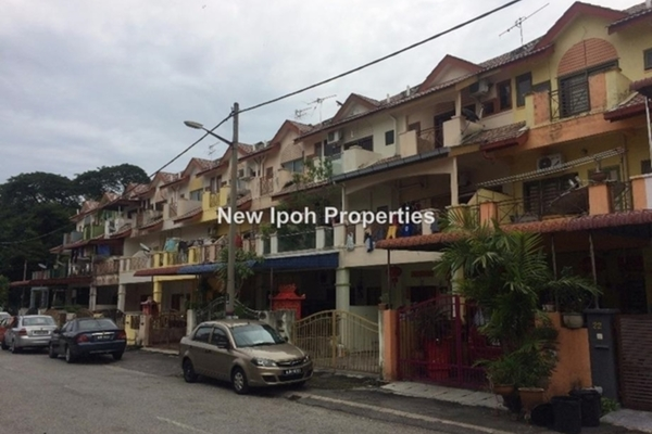For Sale Terrace at Taman Mas Jaya, Ipoh Leasehold Unfurnished 3R/3B 205k