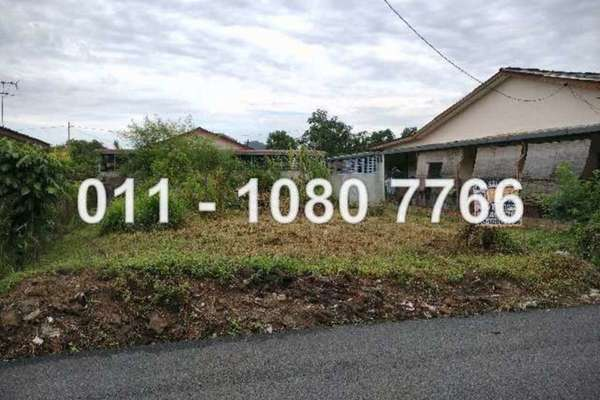 For Sale Land at Kampung Bercham, Ipoh Leasehold Unfurnished 0R/0B 150k