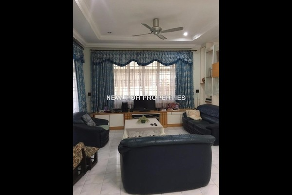 For Rent Semi-Detached at Taman Ipoh Perdana, Ipoh Leasehold Semi Furnished 5R/4B 2.5k
