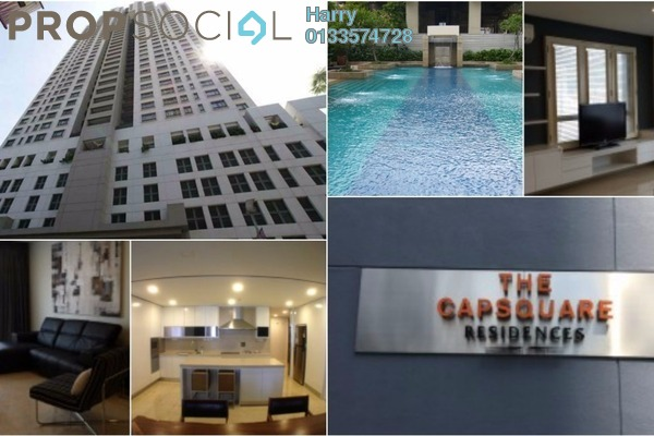 For Rent Condominium at The CapSquare Residences, Dang Wangi Freehold Fully Furnished 3R/3B 4k