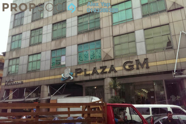 For Sale Shop at Plaza GM, Chow Kit Freehold Unfurnished 0R/0B 1.3百万