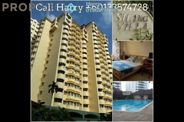 For Rent Condominium at Shang Villa, Kelana Jaya Freehold Fully Furnished 3R/2B 1.6k