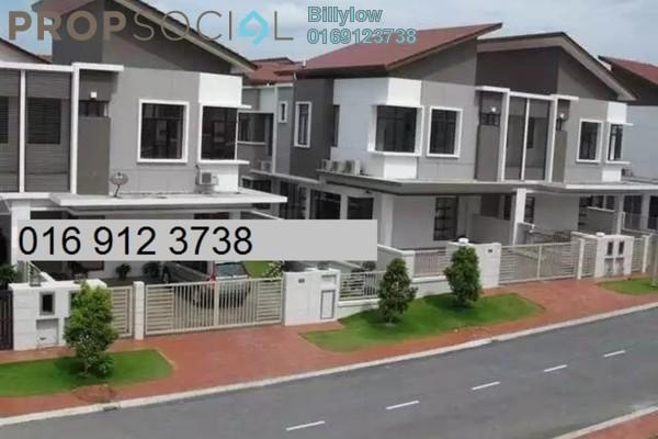 For Sale Semi-Detached at Setia Damai, Setia Alam Freehold Semi Furnished 4R/4B 1.28m