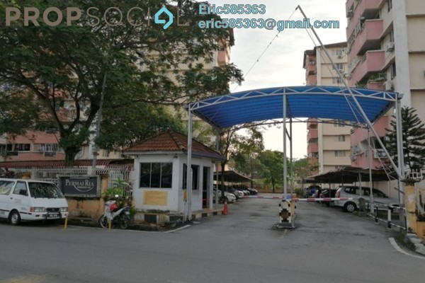 For Rent Condominium at Permai Ria, Jalan Ipoh Freehold Semi Furnished 3R/2B 1.2k