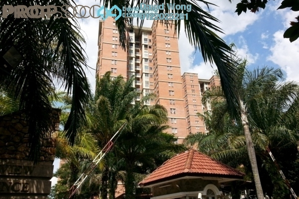 For Rent Condominium at Greenview Residence, Bandar Sungai Long Freehold Semi Furnished 3R/2B 1.2k