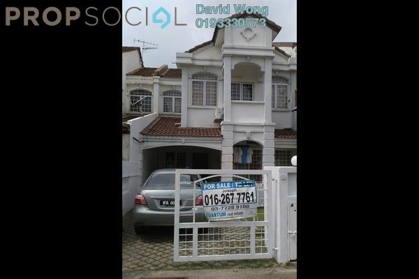 For Sale Terrace at USJ 11, UEP Subang Jaya Freehold Semi Furnished 4R/3B 790k