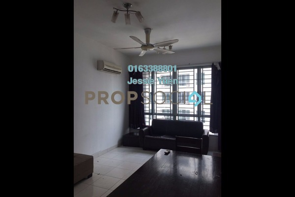 For Rent Serviced Residence at Casa Tiara, Subang Jaya Freehold Fully Furnished 3R/2B 1.9k