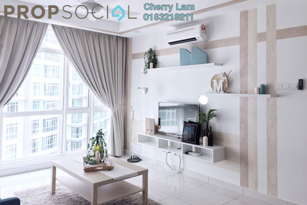 For Sale Serviced Residence at The Court, Sungai Besi Freehold Fully Furnished 2R/2B 548k