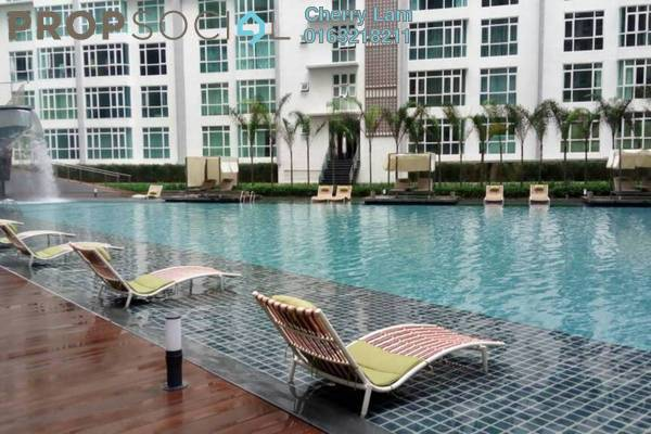 For Rent Serviced Residence at The Court, Sungai Besi Freehold Fully Furnished 3R/2B 2.4k