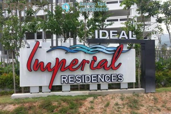 For Rent Condominium at Imperial Residences, Sungai Ara Freehold Unfurnished 3R/2B 1.1k