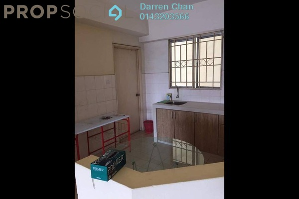 For Rent Apartment at Warisan Cityview, Cheras Freehold Semi Furnished 3R/2B 1.6k