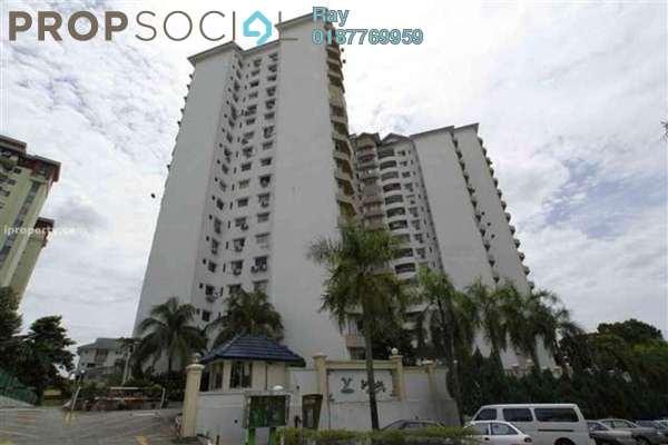 For Rent Condominium at Sri Lata, Desa Petaling Freehold Fully Furnished 3R/2B 1.55k