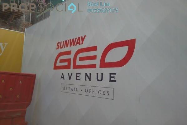 For Rent Office at Sunway GEO Residences, Bandar Sunway Freehold Semi Furnished 0R/1B 2.12k