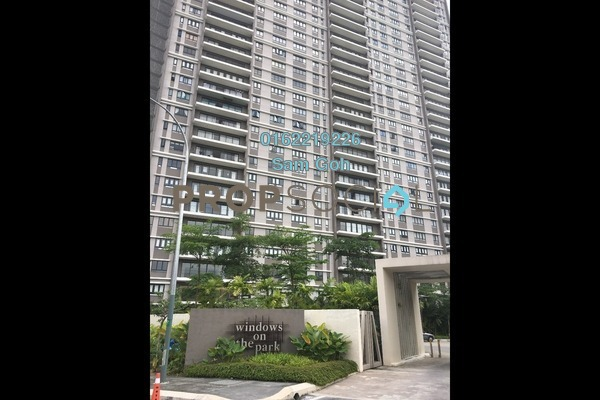 For Rent Condominium at Windows On The Park, Bandar Tun Hussein Onn Freehold Semi Furnished 3R/2B 1.4k