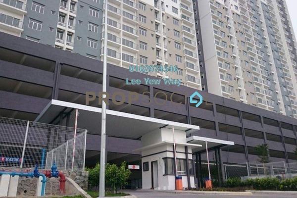For Sale Apartment at Saujana Permai Apartment, Kajang Freehold Semi Furnished 3R/2B 300k