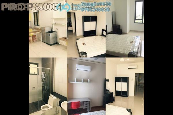 For Rent Serviced Residence at Da Men, UEP Subang Jaya Freehold Fully Furnished 0R/1B 2.2k