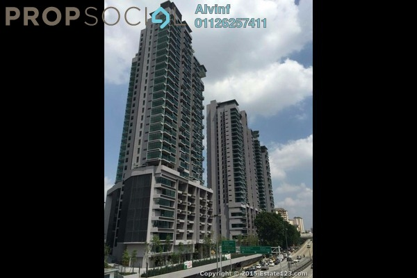 For Sale Condominium at The Leafz, Sungai Besi Freehold Semi Furnished 2R/2B 670k