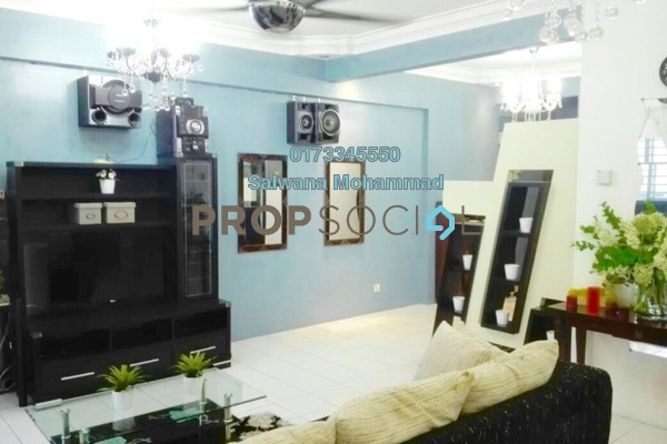 For Rent Condominium at Sri Ampang Mas, Ampang Freehold Semi Furnished 3R/2B 1.7k