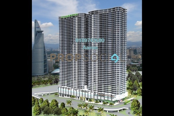 For Rent Condominium at South View, Bangsar South Freehold Semi Furnished 1R/1B 2.2k