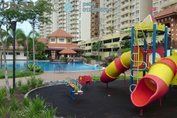For Sale Condominium at Koi Tropika, Puchong Freehold Semi Furnished 3R/2B 340k
