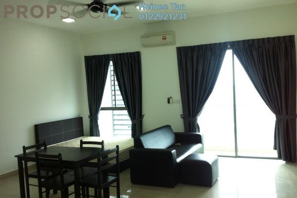For Rent Condominium at CyberSquare, Cyberjaya Freehold Semi Furnished 1R/1B 1k