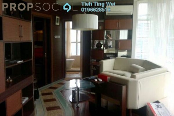 For Rent Condominium at Park View, KLCC Freehold Fully Furnished 1R/1B 2.5k