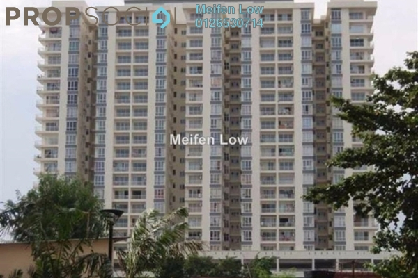 For Rent Condominium at Prima Setapak II, Setapak Freehold Unfurnished 3R/2B 1.5k