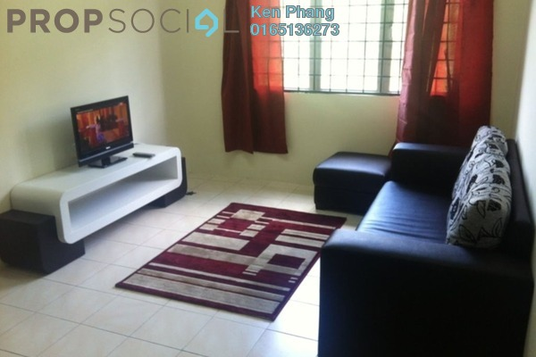 For Rent Apartment at Mayang Apartment, Bandar Putra Permai Freehold Fully Furnished 3R/2B 1.1k