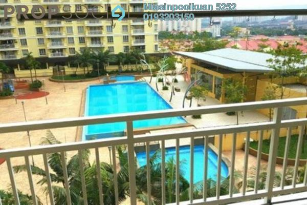 For Rent Condominium at Platinum Lake PV10, Setapak Freehold Semi Furnished 3R/2B 1.7k