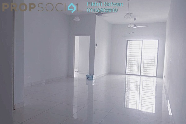For Rent Condominium at Kristal View, Shah Alam Freehold Semi Furnished 4R/2B 1.7k