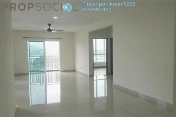 For Rent Serviced Residence at The Loft @ ZetaPark, Setapak Freehold Semi Furnished 3R/2B 1.8k