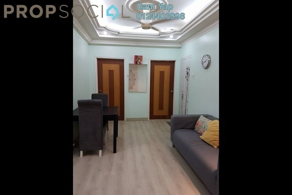 For Sale Apartment at Prima Saujana, Kepong Freehold Semi Furnished 3R/2B 340k