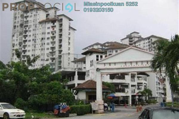 For Rent Condominium at Sri Suajaya, Sentul Freehold Semi Furnished 4R/2B 1.3k