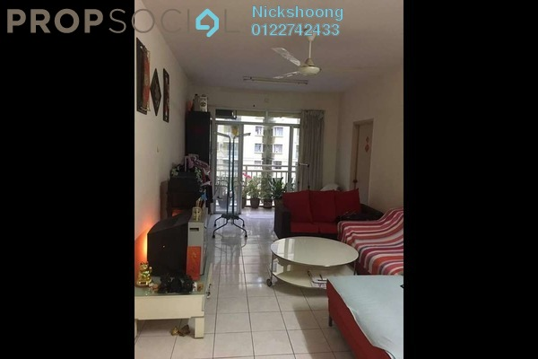 For Sale Condominium at Platinum Hill PV3, Setapak Freehold Semi Furnished 4R/2B 450k