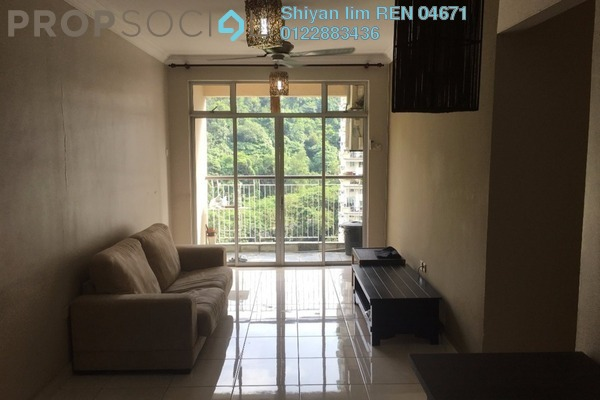 For Sale Condominium at Perdana View, Damansara Perdana Freehold Fully Furnished 3R/2B 550k