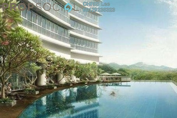 For Sale Condominium at Panorama, KLCC Freehold Fully Furnished 4R/3B 2.7m