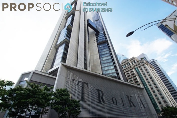 For Sale Condominium at K Residence, KLCC Freehold Fully Furnished 3R/2B 4.45m