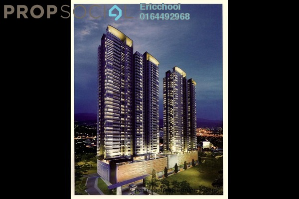 For Sale Condominium at The Elements, Ampang Hilir Freehold Unfurnished 3R/2B 1.24m