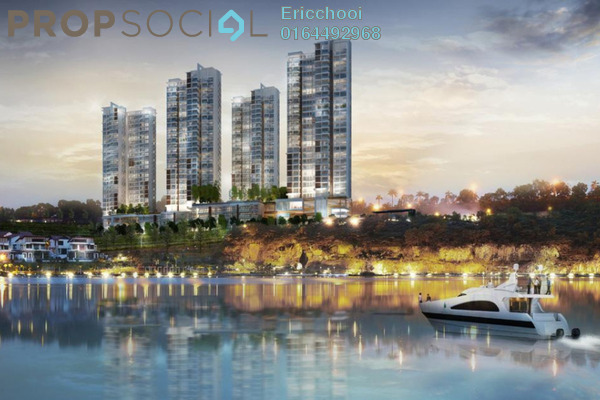 For Sale Condominium at Sunway South Quay, Bandar Sunway Leasehold Semi Furnished 3R/2B 1.02m