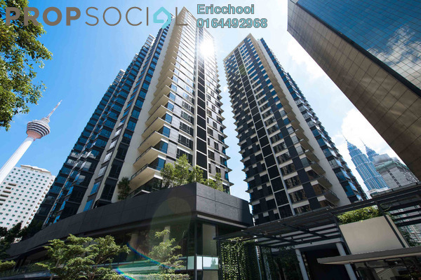 For Sale Condominium at K Residence, KLCC Freehold Fully Furnished 2R/1B 1.75m