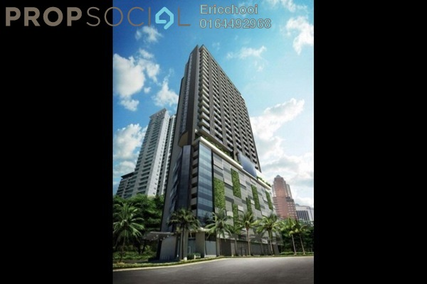 For Sale Condominium at K Residence, KLCC Freehold Fully Furnished 1R/1B 625k