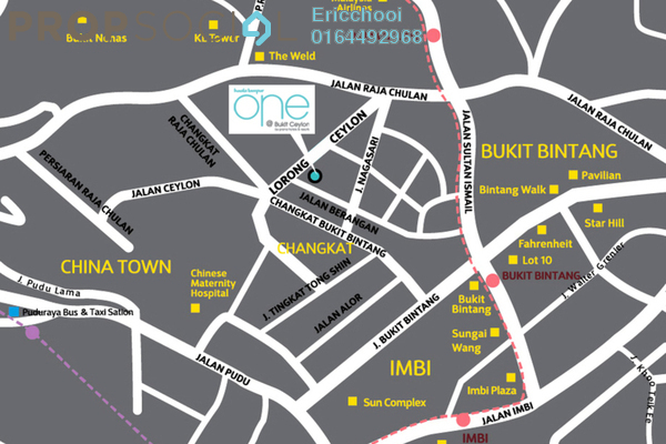 One hotel suites location map av9z vg7mra5ypuoqwam small