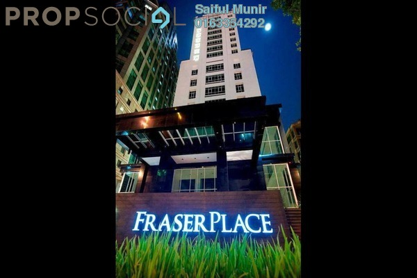 For Sale Serviced Residence at Fraser Place, KLCC Freehold Fully Furnished 1R/1B 695k