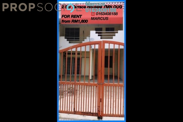 For Rent Terrace at Taman OUG, Old Klang Road Freehold Fully Furnished 4R/3B 1.7k