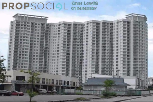 For Sale Condominium at The Spring, Jelutong Freehold Semi Furnished 3R/2B 580k