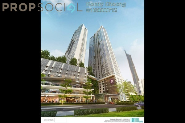 For Sale Condominium at The Robertson, Pudu Freehold Semi Furnished 1R/1B 830k