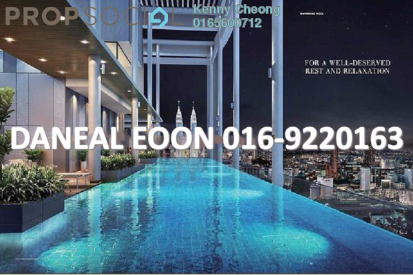 For Sale Condominium at The Colony, Chow Kit Freehold Unfurnished 2R/2B 900k